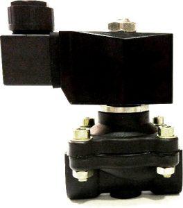 Электромагнитный клапан для воды или воздуха. Пластиковый